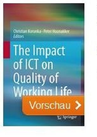 Titelbild des Buches The Impact on Quality of Working Life