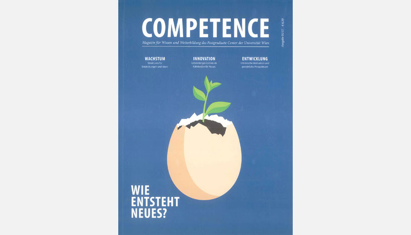 Cover des Magazins Competence
